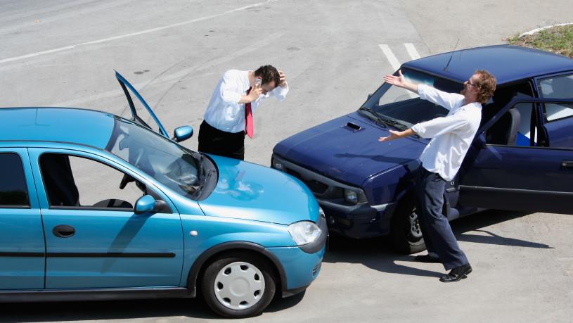 kolizja samochodowa